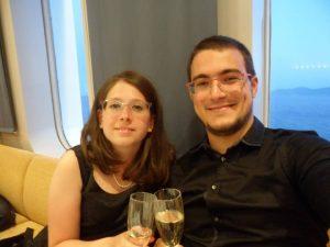 Ileana e Andrea, gli innamorati in viaggio