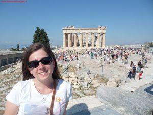 Innamorati in Viaggio, viaggio di nozze, Atene
