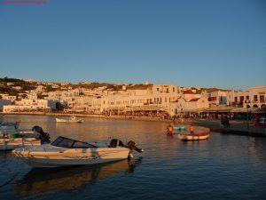 Innamorati in Viaggio, viaggio di nozze, Mykonos