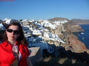 Innamorati in Viaggio, viaggio di nozze, Santorini