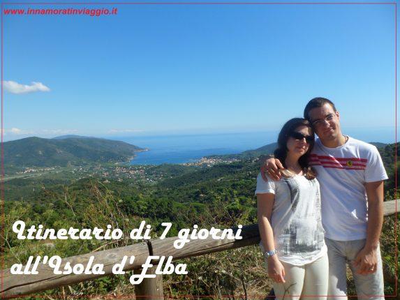 Copertina Innamorati in viaggio Isola d'Elba