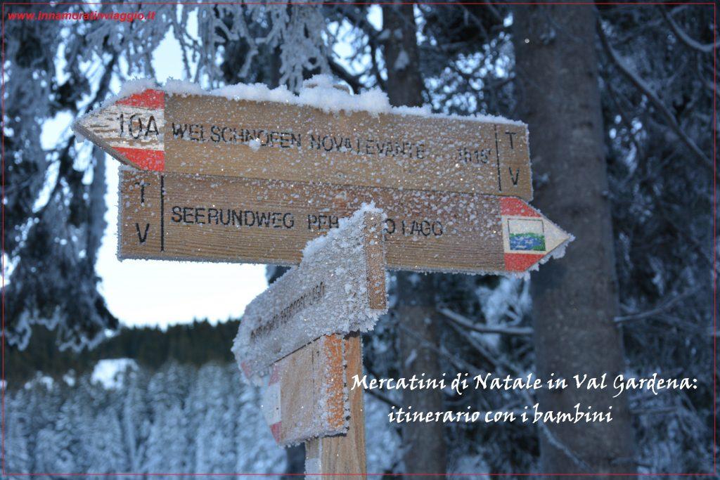 Natale in Trentino Alto Adige: Weekend in Val Gardena con i bambini - Innamorati in Viaggio