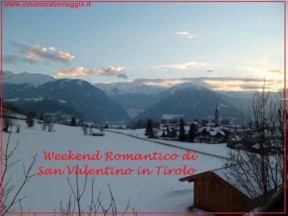 Copertina, Innamorati in Viaggio Weekend romantico di San Valentino in Tirolo