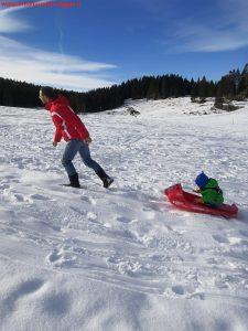 Innamorati in viaggio, montagna inverno bambini veneto, 13