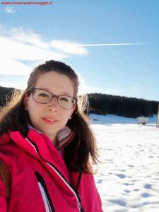Innamorati in viaggio, montagna inverno bambini veneto, 4