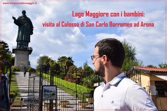 Innamorati in Viaggio, Lago Maggiore, Colosso di San Carlo Borromeo, copertina
