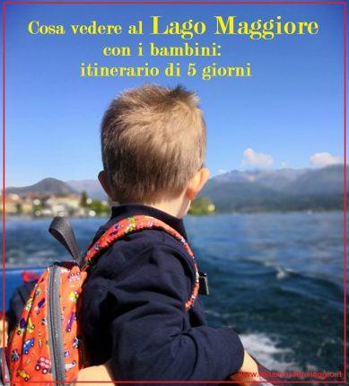 Copertina, Innamorati in Viaggio, Lago Maggiore con i bambini