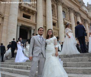 Innamorati in Viaggio, Rinnovo voti in Vaticano 6
