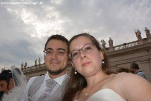 Innamorati in Viaggio, Rinnovo voti in Vaticano 1