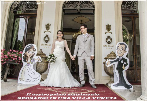 Copertina, matrimonio in villa veneta, Innamorati in viaggio
