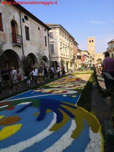 Infiorata in Veneto a Noale, Innamorati in viaggio 5