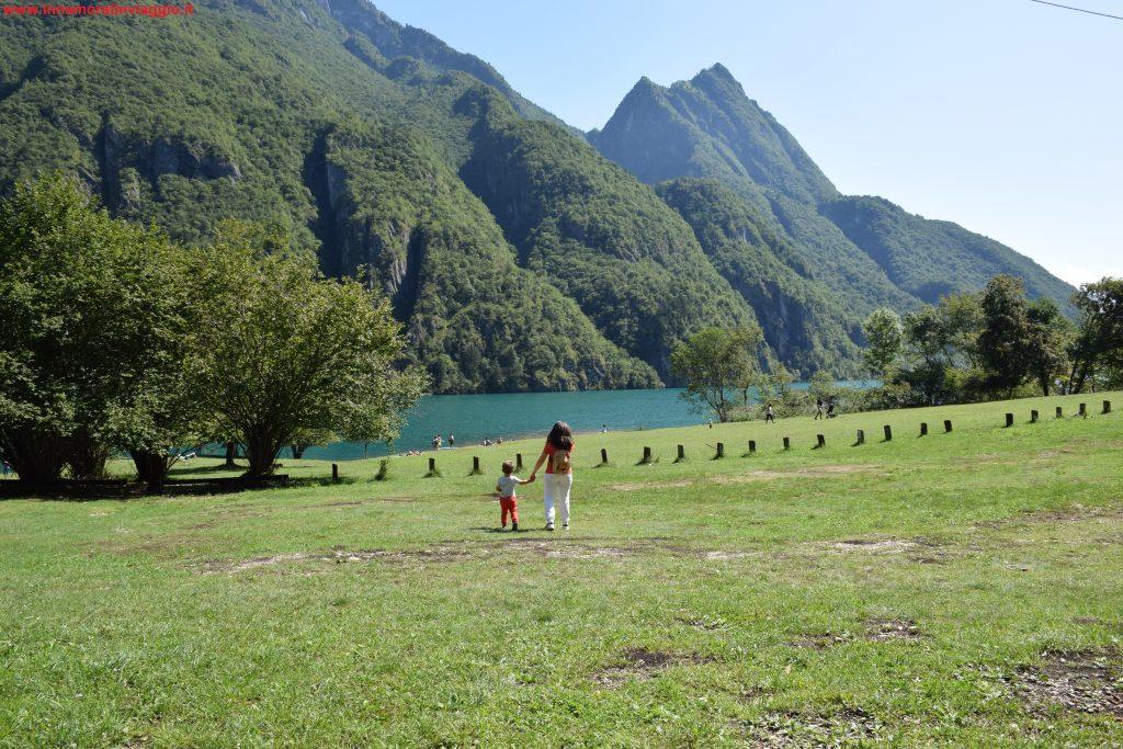 Lago del Mis, Innamorati in viaggio, 1